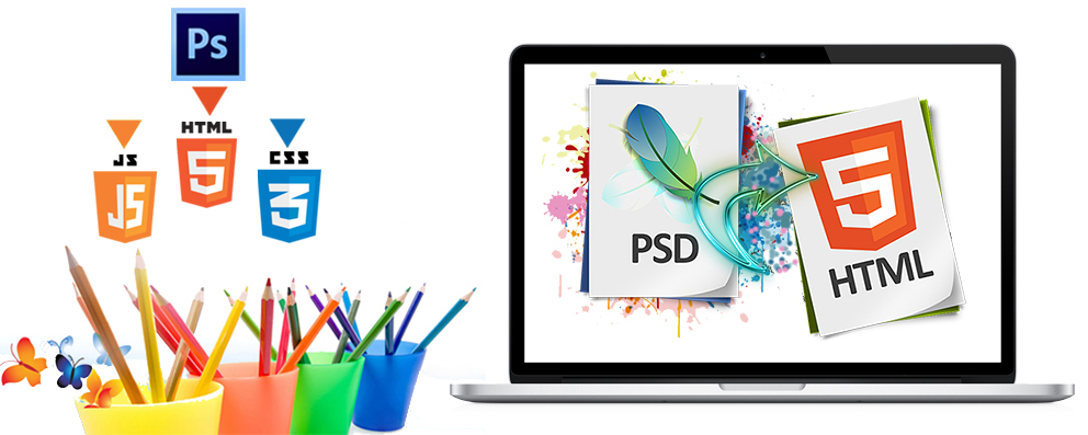 PSD to Html Conversion service